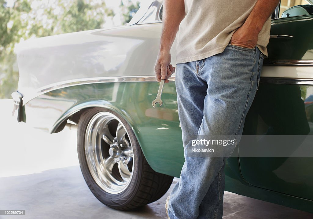 Fixing Cars : Stock Photo