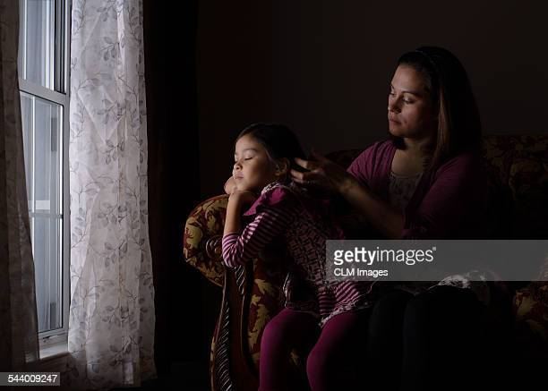fixing her hair - daughters of darkness stock pictures, royalty-free photos & images
