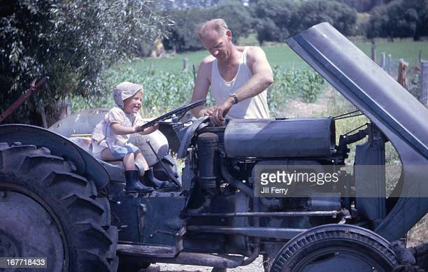 Fixing the tractor