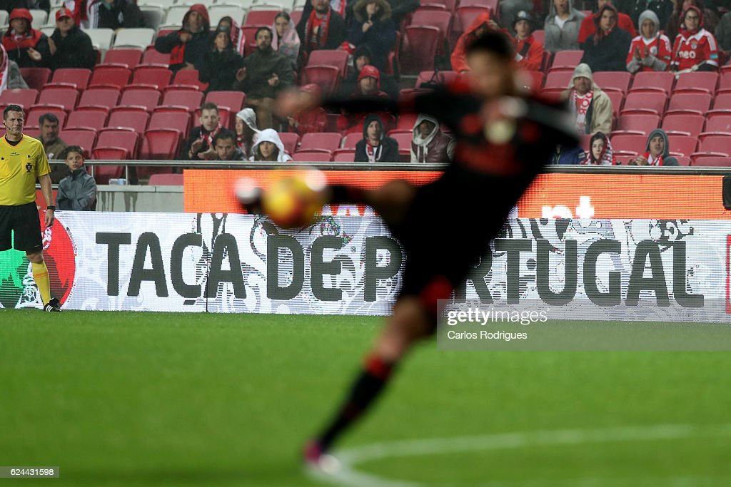 Fixture photo during the SL Benfica v CS Maritimo - Portuguese Cup round 4 match at Estadio da Luz on November 19, 2016 in Lisbon, Portugal.
