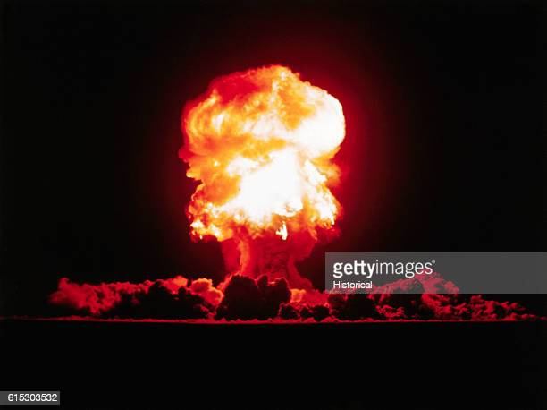 Fizeau was a 11 kiloton tower shot fired September 14 1957 at the Nevada Test Site