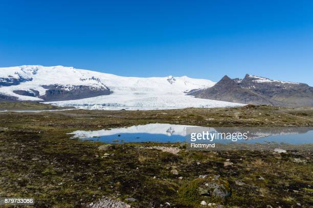 Fjallsarlon glacier and lake