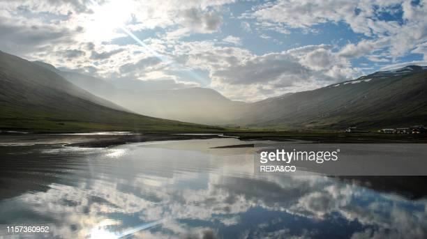 Fjord in Rey_arfjor_ur Iceland Europe
