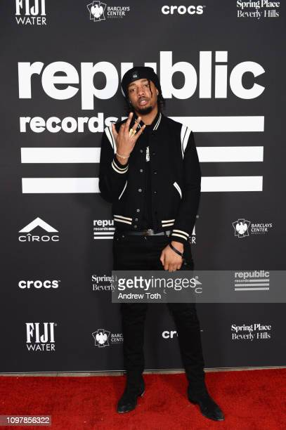 FKi 1st attends Republic Records Grammy after party at Spring Place Beverly Hills on February 10 2019 in Beverly Hills California