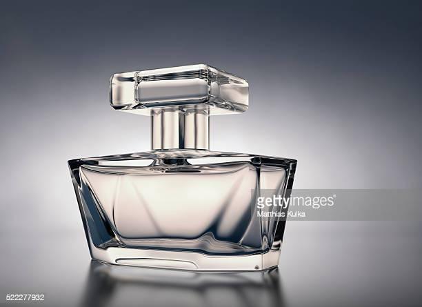 Flacon with perfume