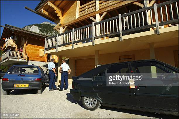 Flactif Family Case 5 Persons Missing Since April 11 2003 In The Le Grand Bornand On September 18 2003 In Le Grand Bornand France Gendarme Are...