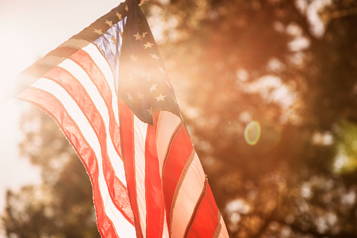 USA flag background for Memorial Day, July 4th. 936331498