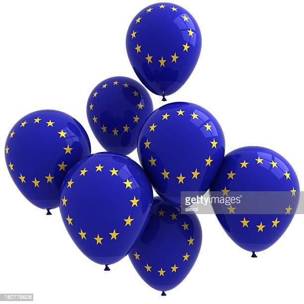 EU Flag Balloons