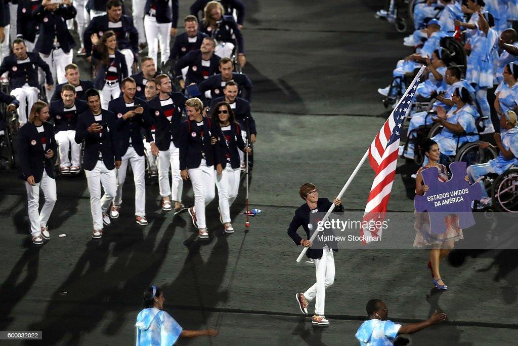 2016 Rio Paralympics - Opening Ceremony : ニュース写真