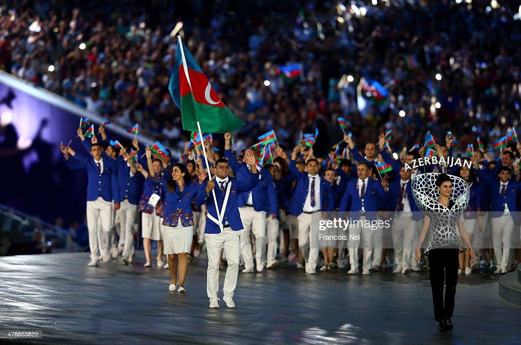 Opening Ceremony: Baku 2015 - 1st European Games : News Photo