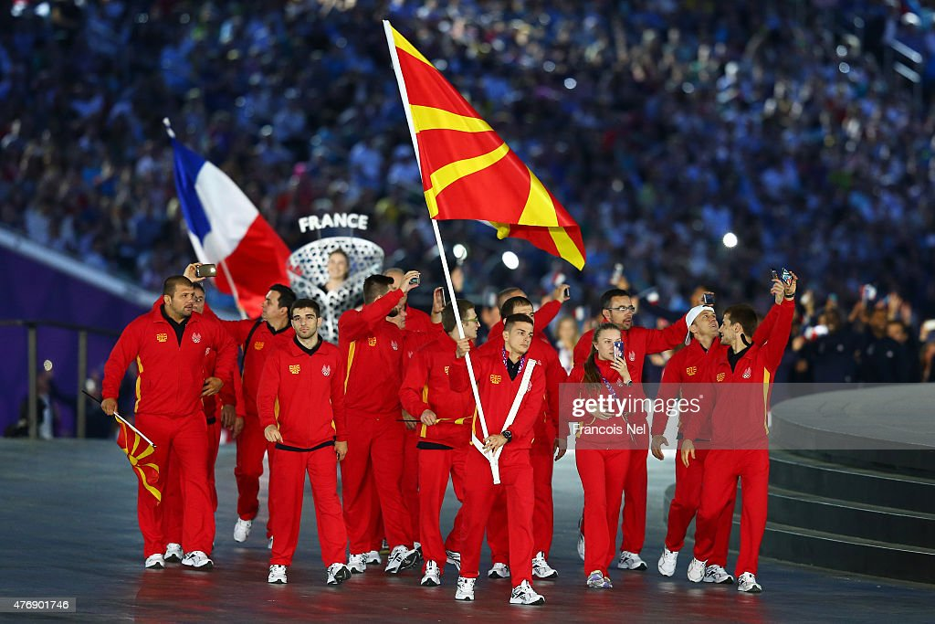 Opening Ceremony: Baku 2015 - 1st European Games : Photo d'actualité