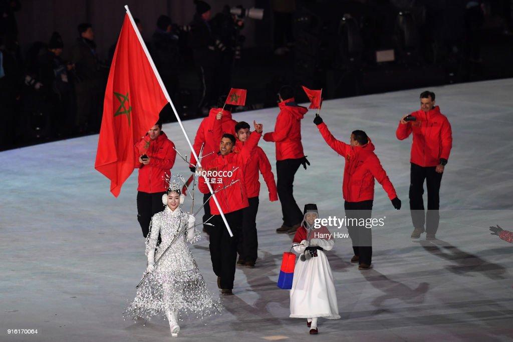 2018 Winter Olympic Games - Opening Ceremony : Foto di attualità