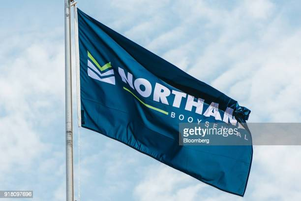 A flag flies at the Northam Platinum Ltd Booysendal platinum mine outside the town of Lydenburg in Mpumalanga South Africa on Tuesday Jan 23 2018...
