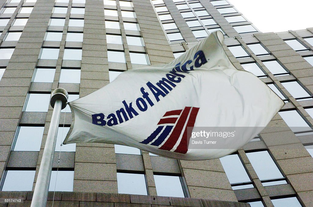 Bank of America To Buy MBNA For $35 Billion : News Photo