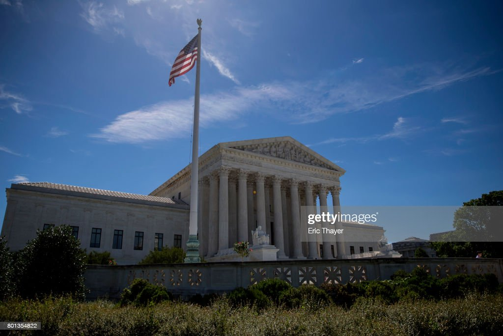 Supreme Court Announces Remainder Of Decisions On Last Day Of Current Term : News Photo