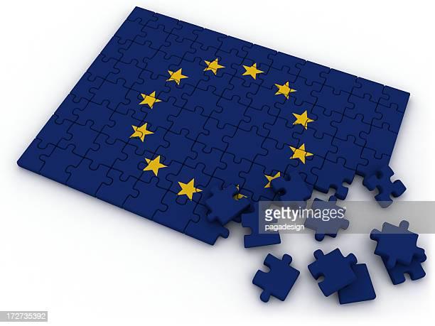 Drapeau de l'UE puzzle