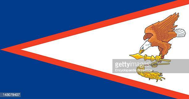 Flag Of American Samoa A US Territory In The South Pacific Ocean