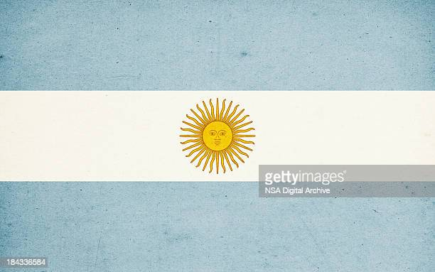 flag of argentina close-up (high resolution image) - argentinas flagga bildbanksfoton och bilder