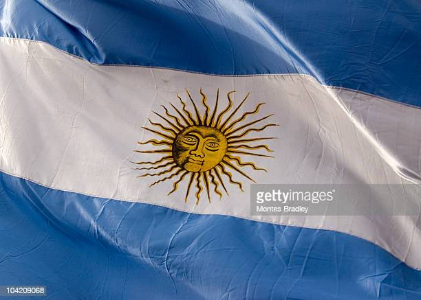 flag of argentina - falklands war stock pictures, royalty-free photos & images