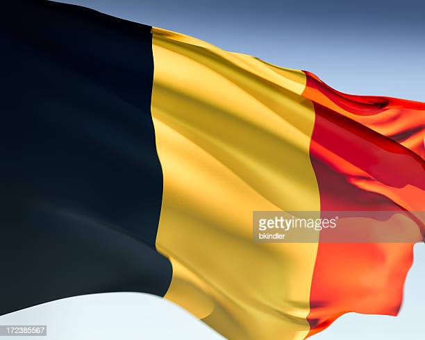 flag of belgium - flag stock pictures, royalty-free photos & images