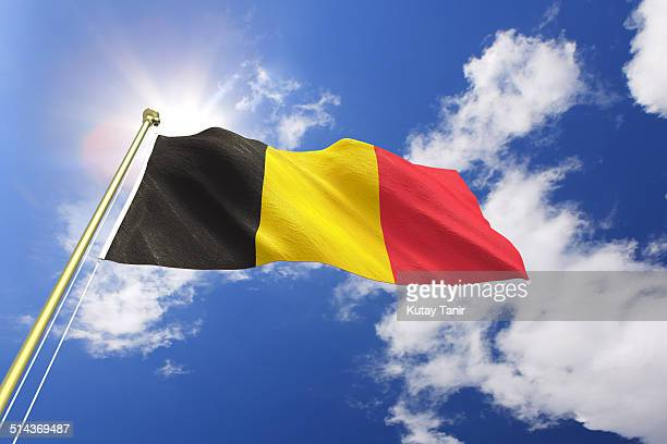flag of belgium - belgian culture stock pictures, royalty-free photos & images