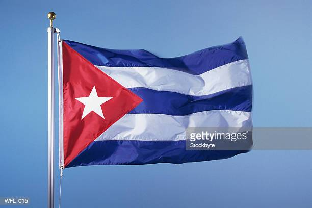 flag of cuba - cuban flag stock pictures, royalty-free photos & images