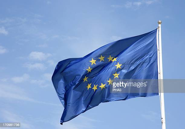 Flag of Europe. Designed by Arsene Heitz and Paul Levy.