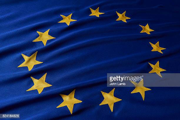 flag of europe - europe stock pictures, royalty-free photos & images