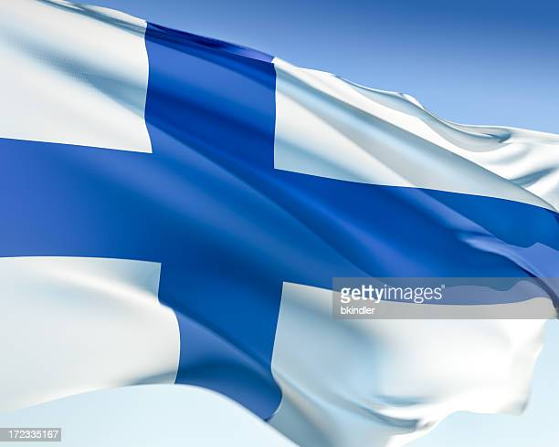 flag of finland - finnish flag stock photos and pictures