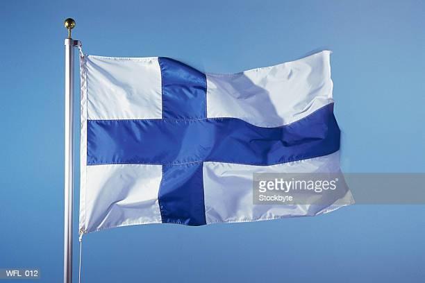 flag of finland - finsk flagga bildbanksfoton och bilder