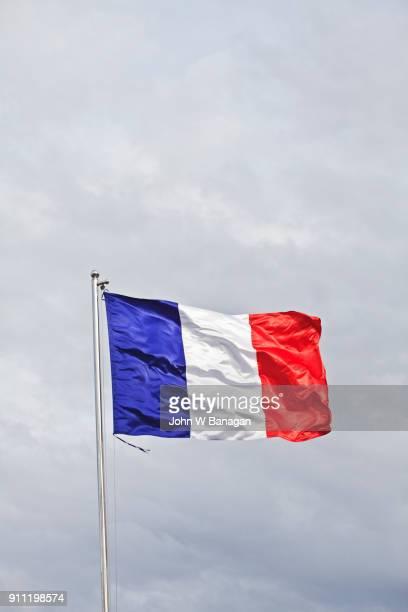flag of france, - franse vlag stockfoto's en -beelden