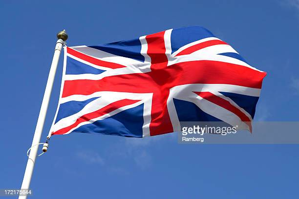 flag of great britain ii - union jack stock photos and pictures