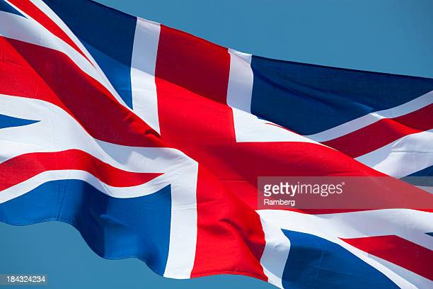 flag of great britain - british flag stock pictures, royalty-free photos & images
