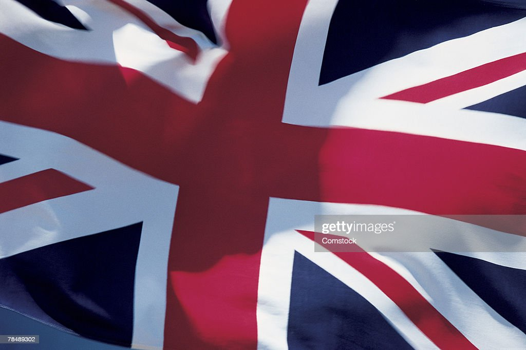 Flag of Great Britain : Stock Photo
