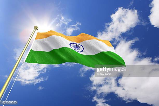 flag of india - indian flag stock pictures, royalty-free photos & images