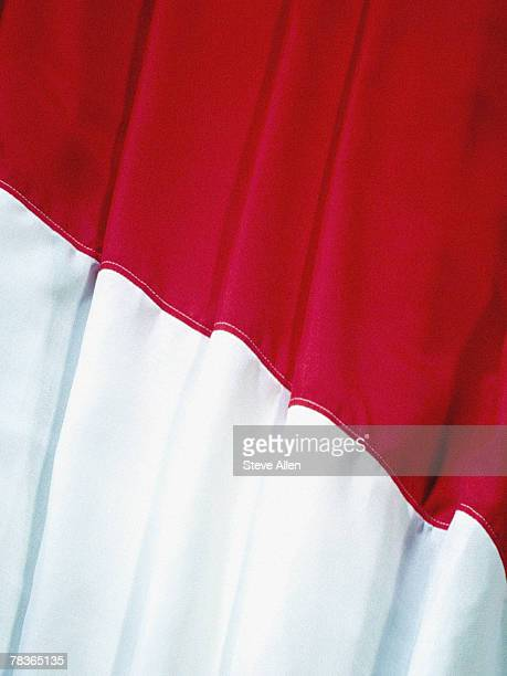 flag of indonesia - indonesia flag stock photos and pictures