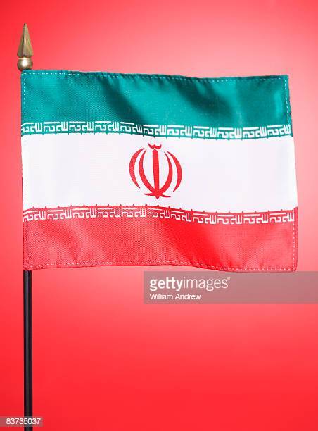 flag of iran - iranian flag stock photos and pictures