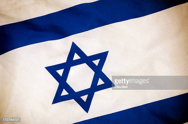 flag of israel - israel flag stock pictures, royalty-free photos & images