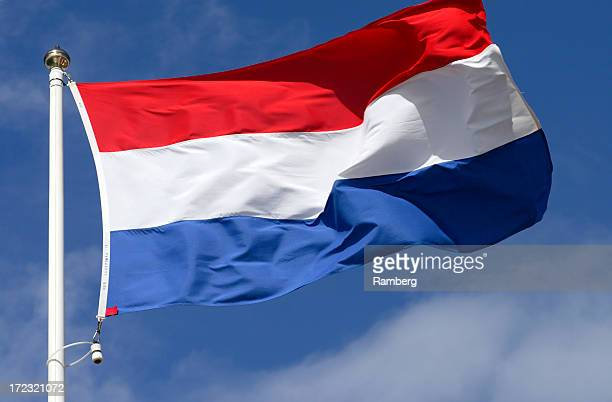 flag of luxembourg - luxembourg benelux stock pictures, royalty-free photos & images