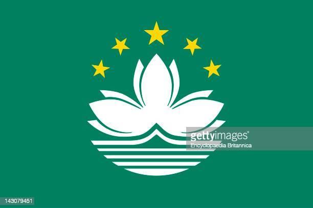 Flag Of Macau A Special Administrative Region Of China