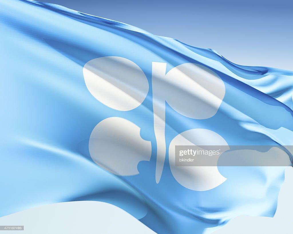 Flag of OPEC : Stock Photo