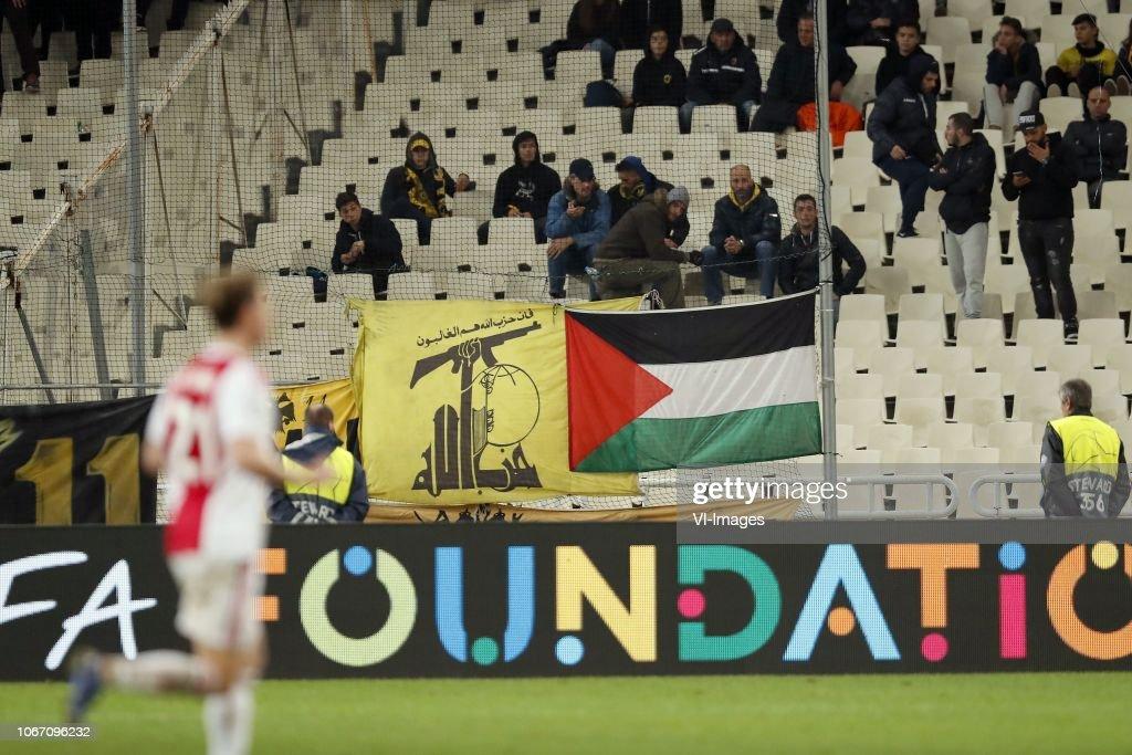 UEFA Champions League'AEK FC v Ajax' : News Photo