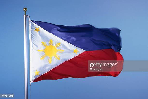 flag of philippines - philippines flag stock pictures, royalty-free photos & images
