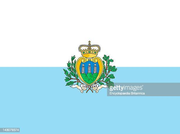 Flag Of San Marino.