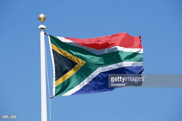 flag of south africa - south african flag stock photos and pictures