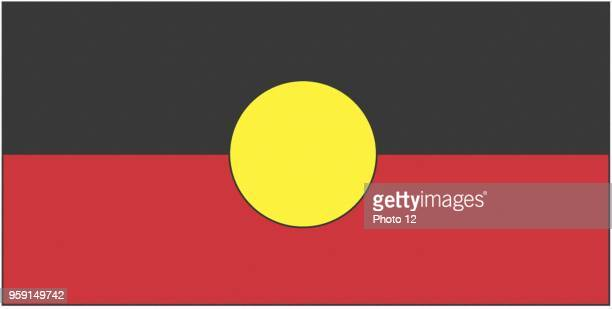 Flag of the Australian Aborigines