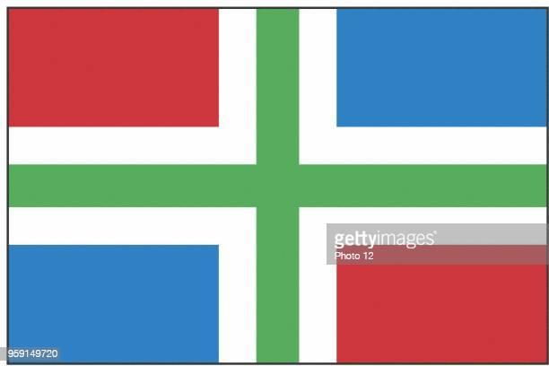 Flag of the Groningen province