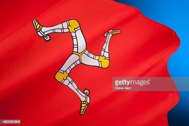 Flag of the Isle of Man - United Kingdom