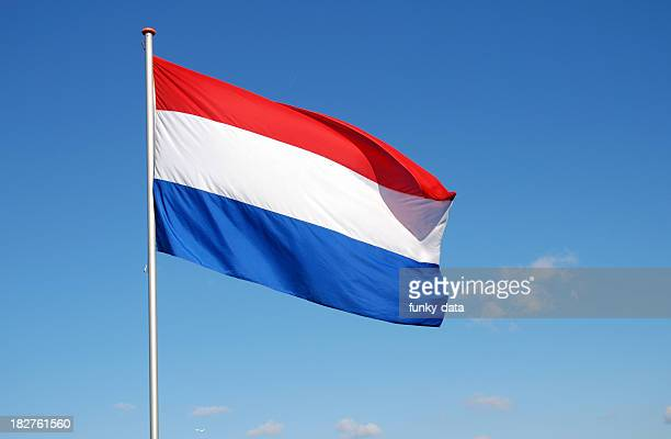 flag of the netherlands - flag stock pictures, royalty-free photos & images