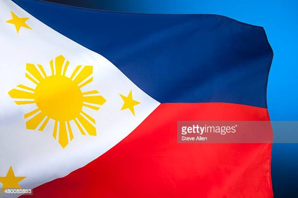 flag of the philippines - philippines flag stock pictures, royalty-free photos & images